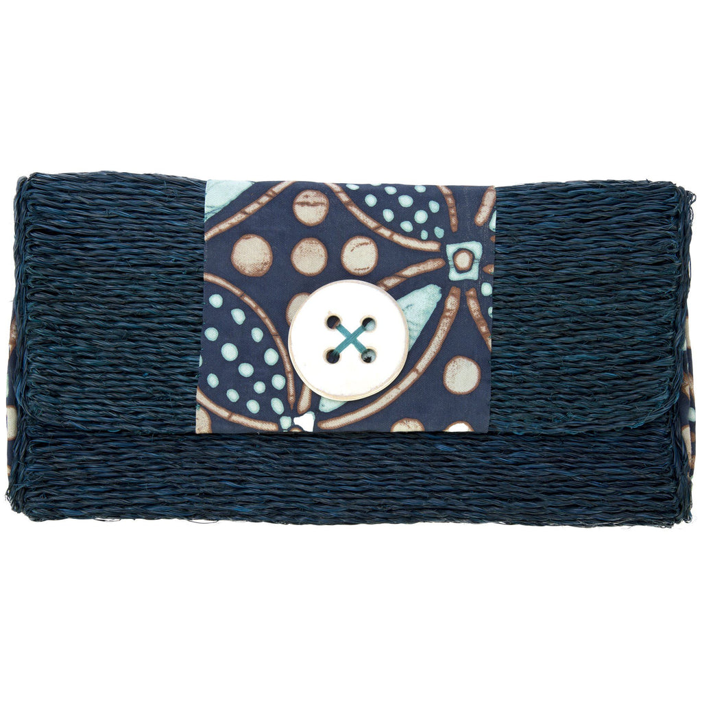 Swazi Sweetgrass Clutch