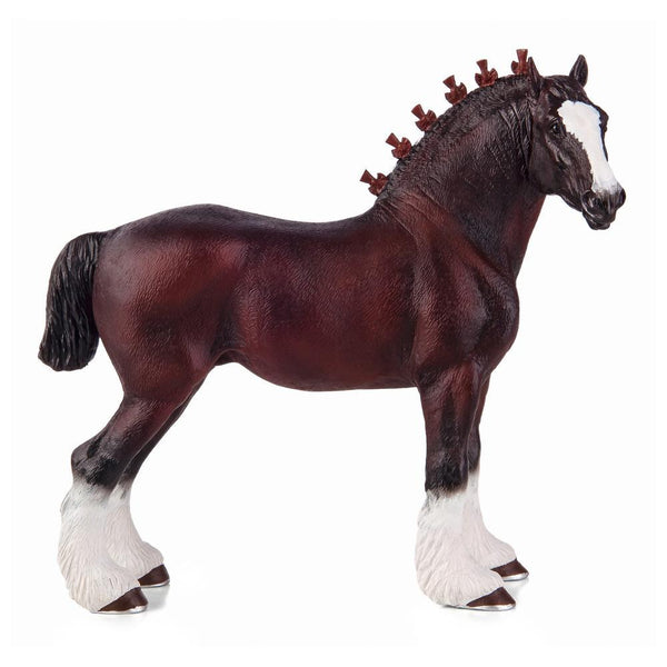 Mojo Fun Shire Horse Figure