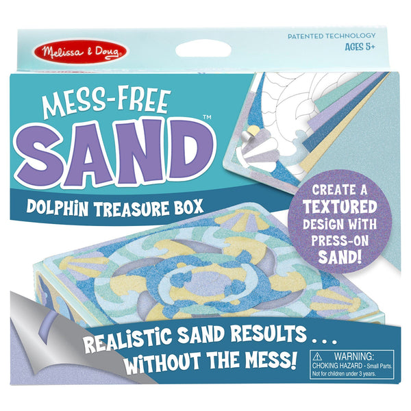 Mess-Free Sand™ Dolphin Treasure Box Kit