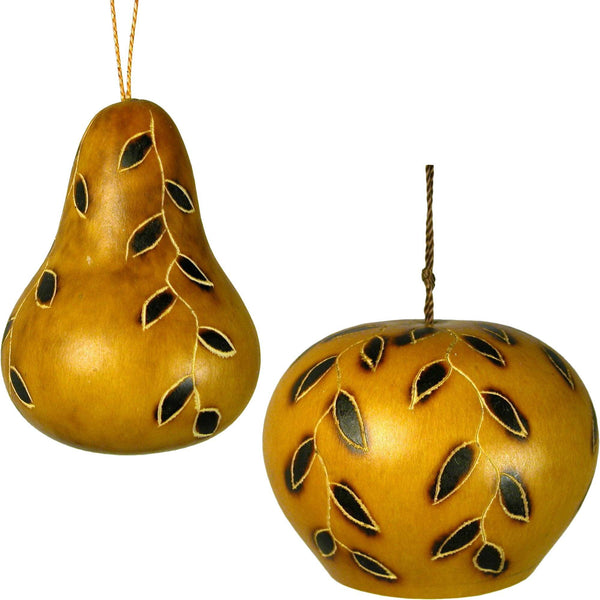 Vines Of Christmas Gourd Ornament