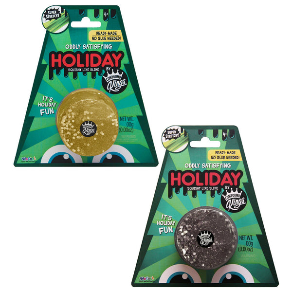 Compound Kings Holiday Glitz Slime Single Pack