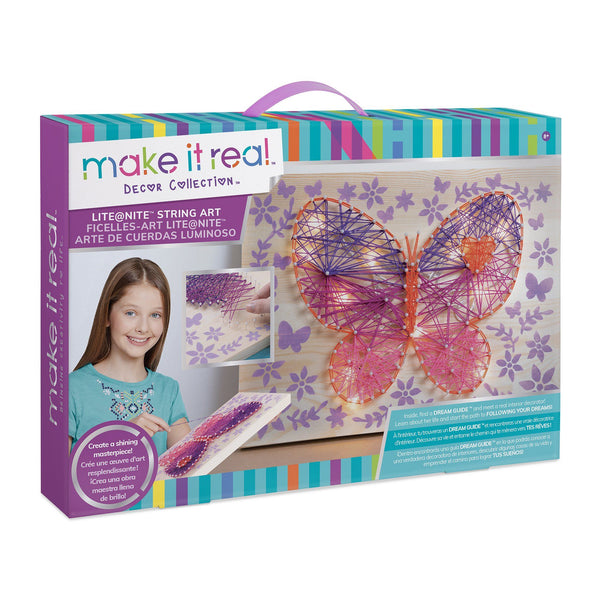 Make It Real™ Lite@Nite String Art Kit