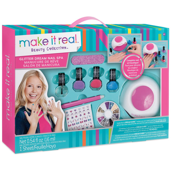 Make It Real™ Glitter Dream Nail Spa Kit