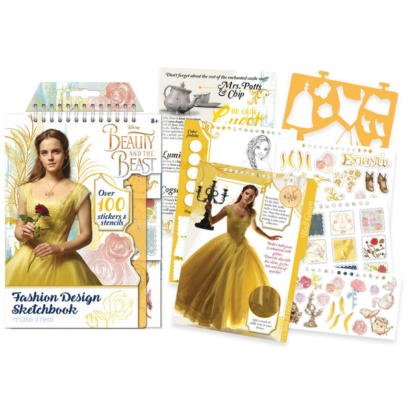 Disney Beauty The Beast Fashion Design Sketchbook The Literacy Site