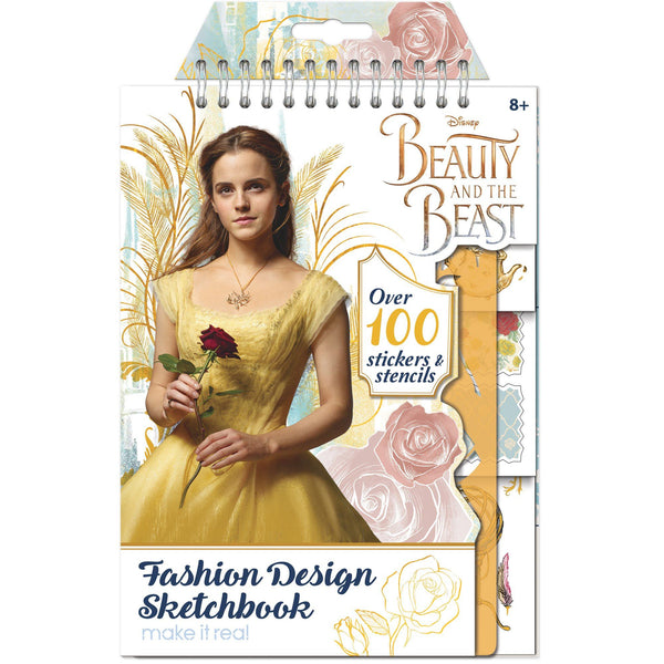 Disney Beauty & The Beast Fashion Design Sketchbook
