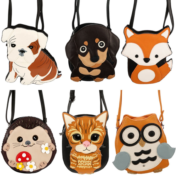 Adorable Animal Crossbody Shoulder Bag