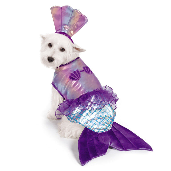 Zack & Zoey® Iridescent Mermaid Dog Costume