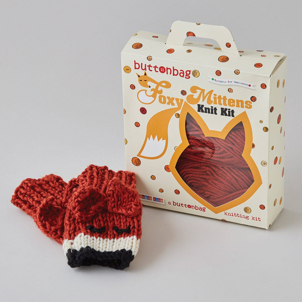 Foxy Mittens Knit Kit