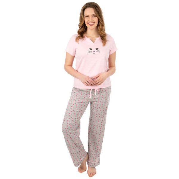 Kitty Love Pajama Set
