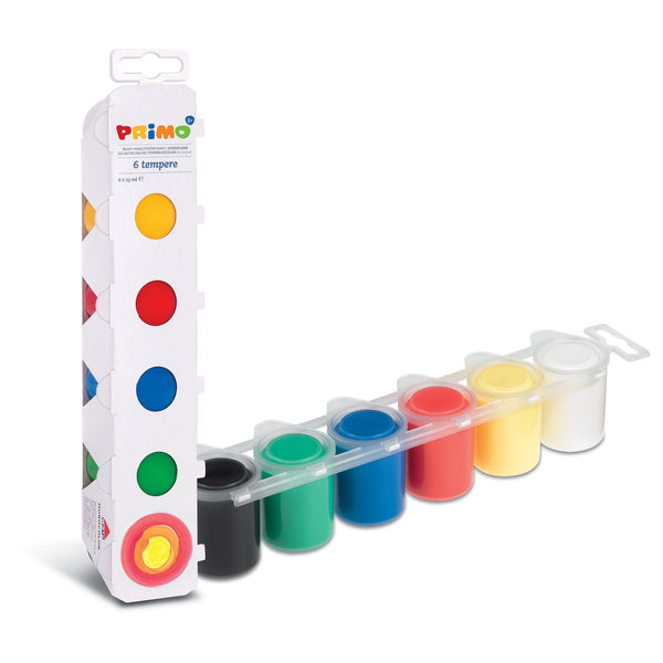 Primo® 6 Color Primary Poster Paints