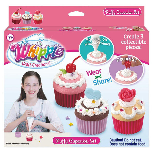 Whipple® Puffy Cupcakes Set