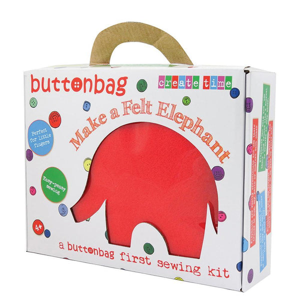 Make A Felt Elephant Kit