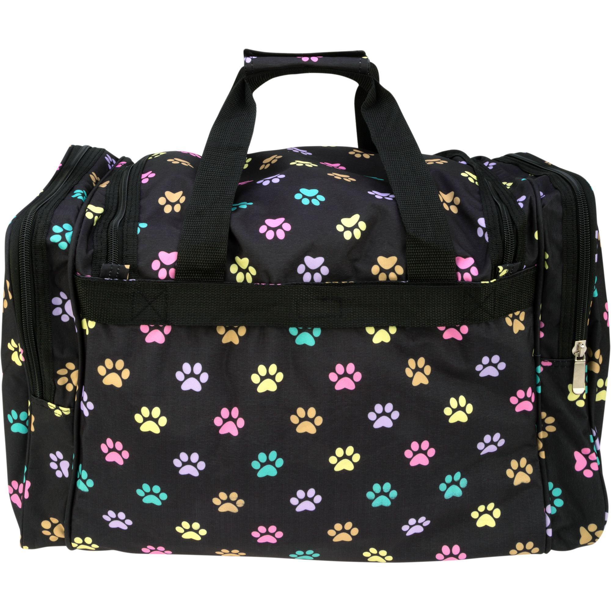 d02a30815d20 I Love Paw Prints Travel Bag| The Animal Rescue Site
