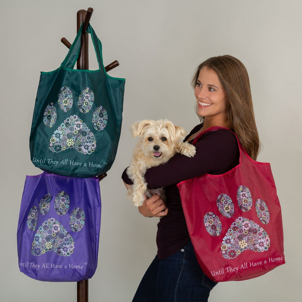 Until They All Have A Home™ Packable Shopping Totes - Set Of 3