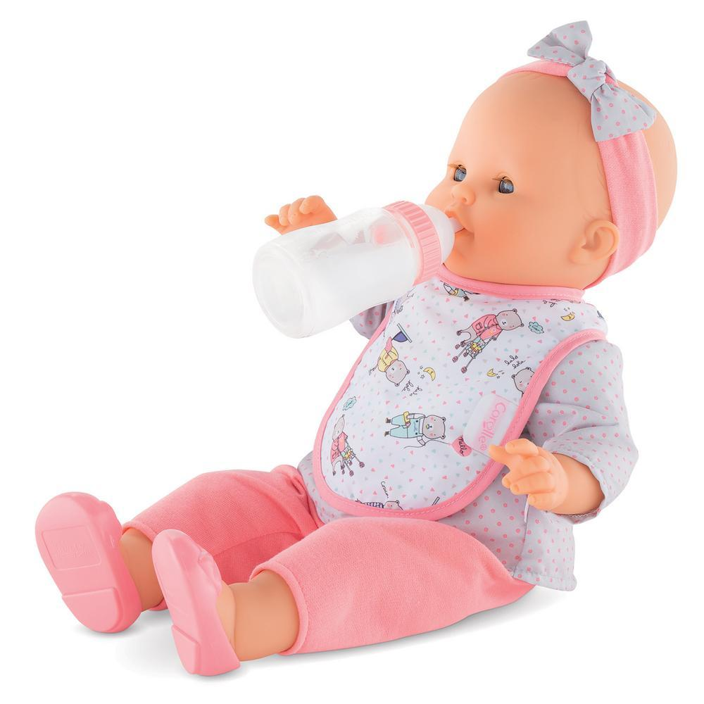 Corolle® Bib & Magic Milk Bottle