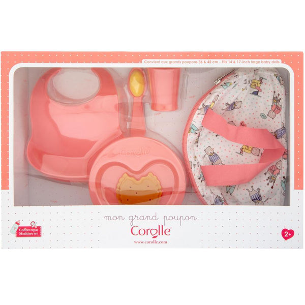 "Corolle® Meal Time Set - For 14"" - 17"" Doll"