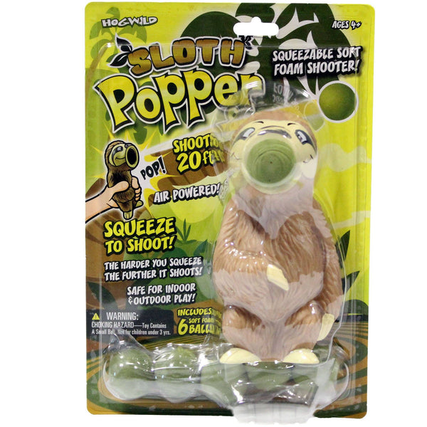 Sloth Popper Toy
