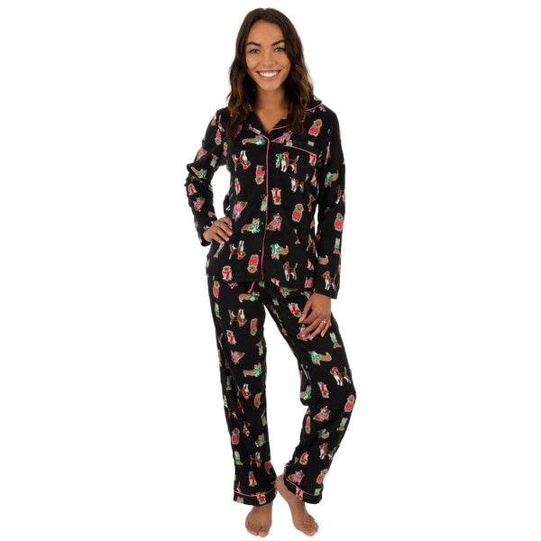 Chilly Dogs Fleece Pajama Set