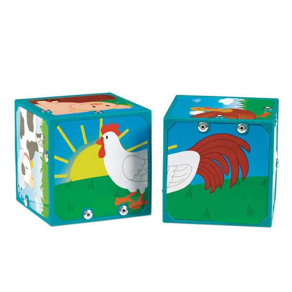 Magic Sound Blocks -- Farm Animals