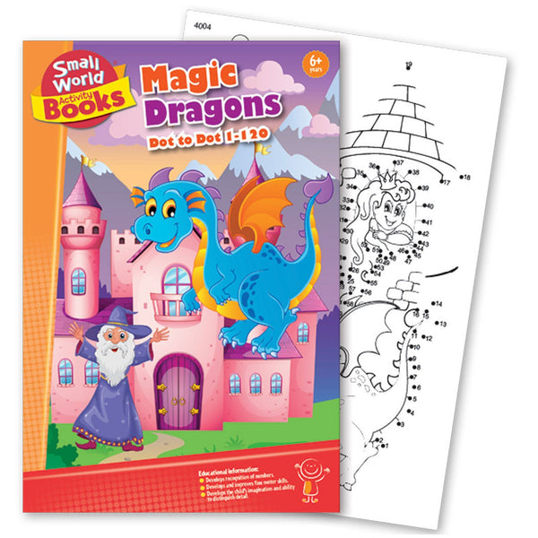 Magic Dragons Activity Book