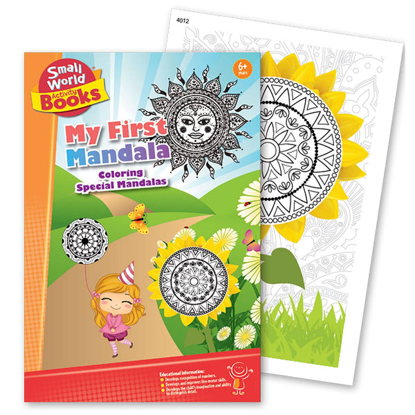 My First Mandala Coloring Book