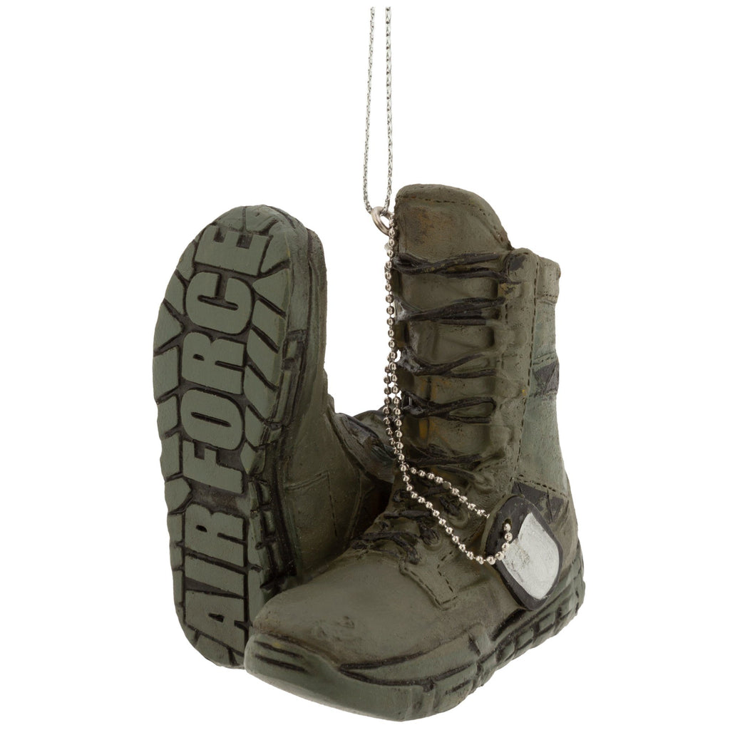 Military Boots Ornament