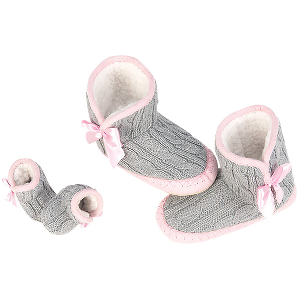 Our Generation® Me & You Cable Knit Slippers