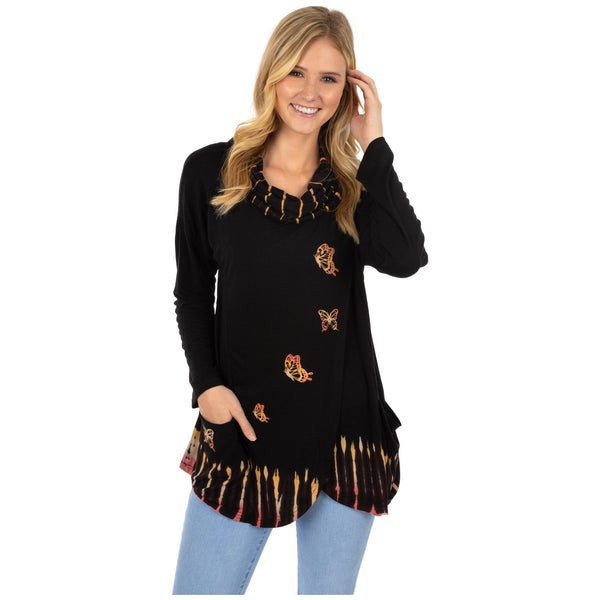 Butterfly Dawn Crossover Tunic