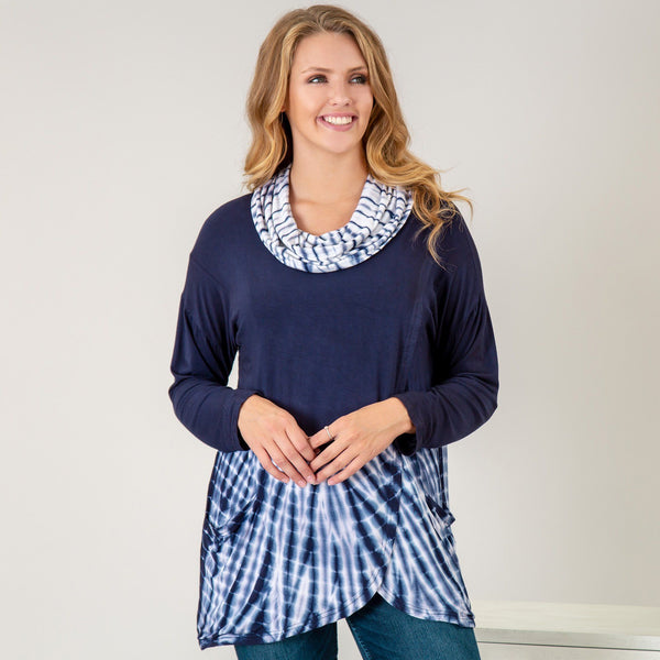 Waves Gone By Crossover Tunic