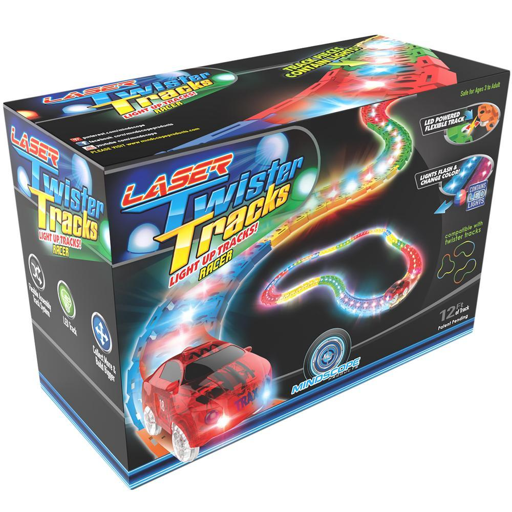 Laser Twister Tracks LED Toy