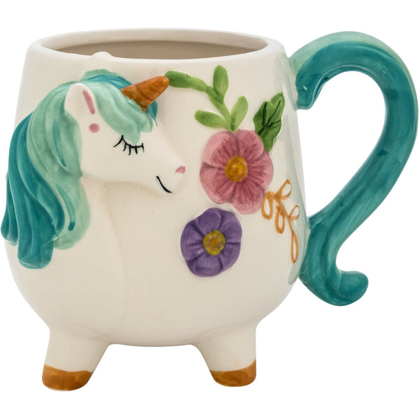Flowering Unicorn Mug