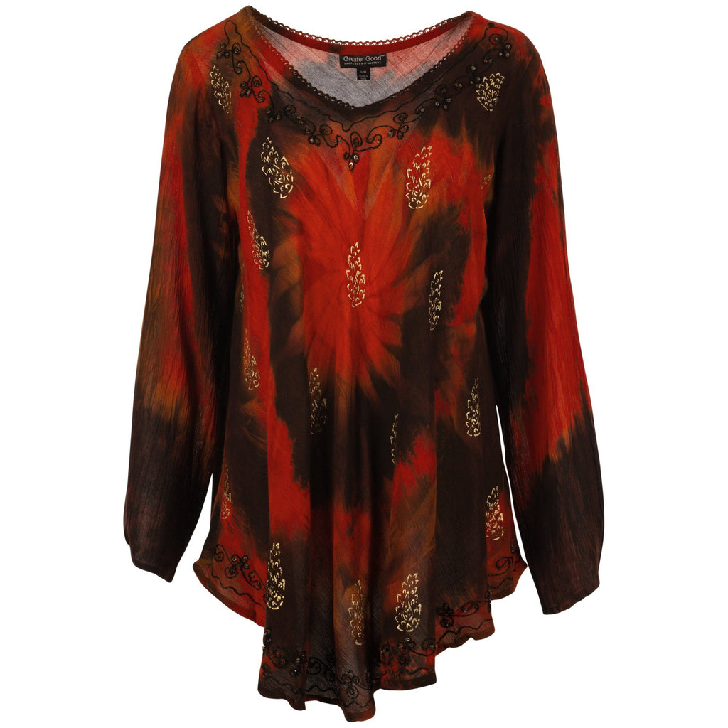 Ring Of Fire Long Sleeve Tunic