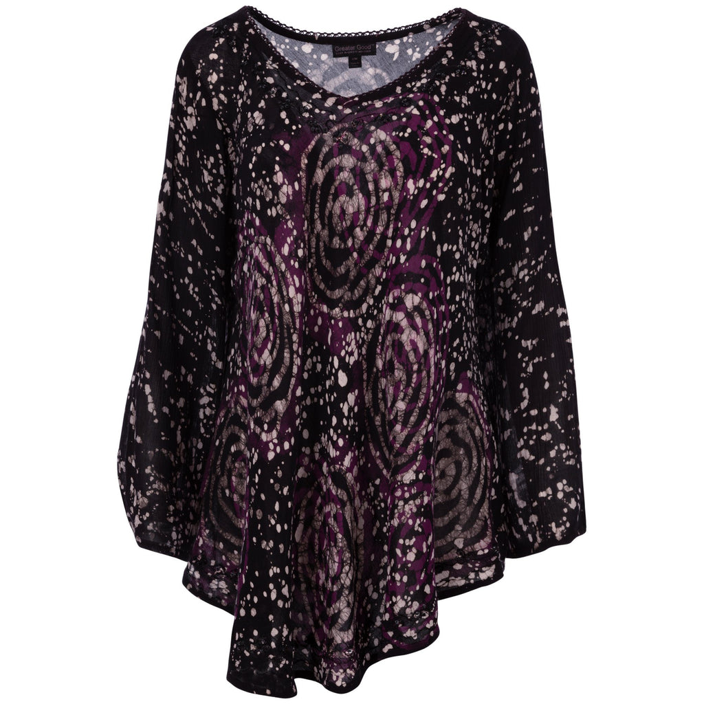Mystic Rose Long Sleeve Tunic