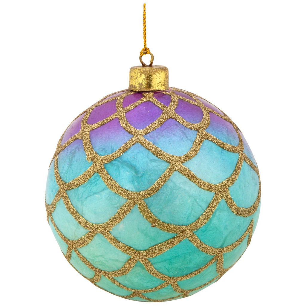 Hand-Painted Capiz Ornament