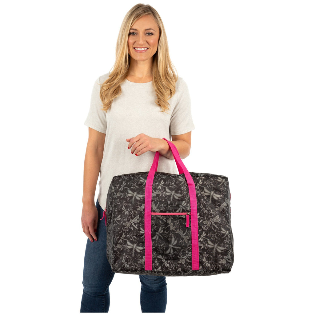 Dragonfly Delight Packable Duffel Bag