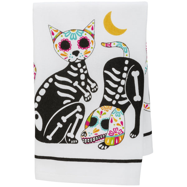 Sugar Skull Pets Kitchen Towel