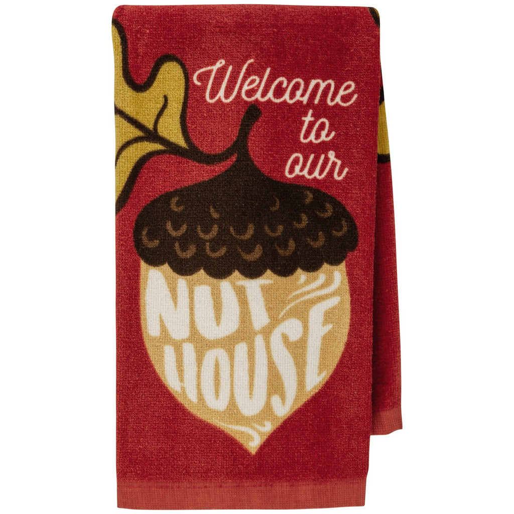 Our Nut House Kitchen Towel