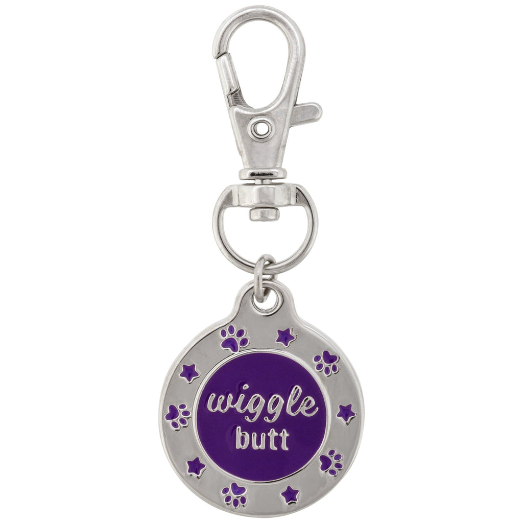 Wiggle Butt Pet Tag