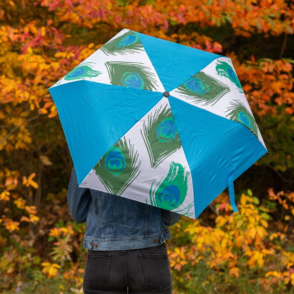 Peacock Splash Umbrella