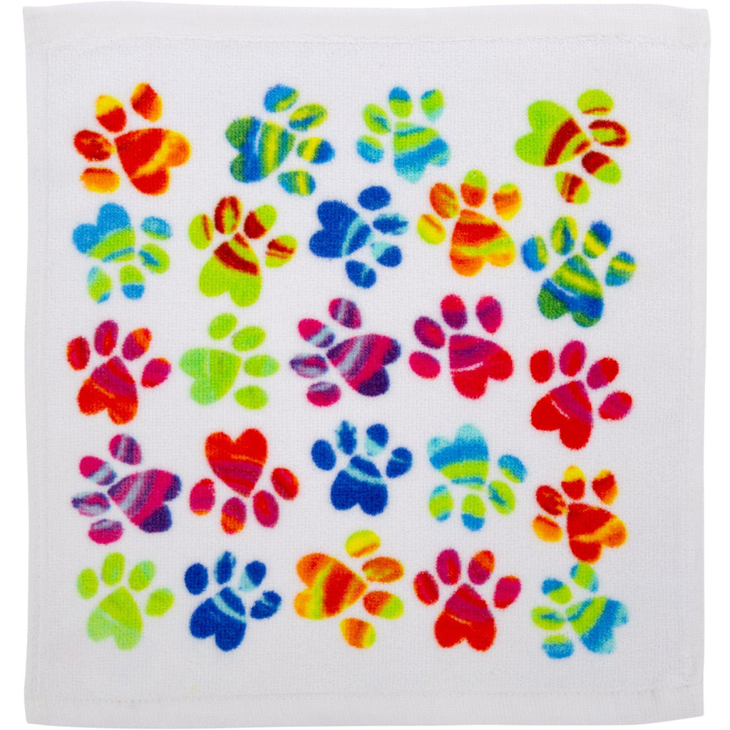 Painted Paws Bath Towel Collection