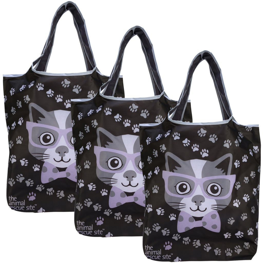 Preppy Pet Compact Shopping Bags - Set Of 3