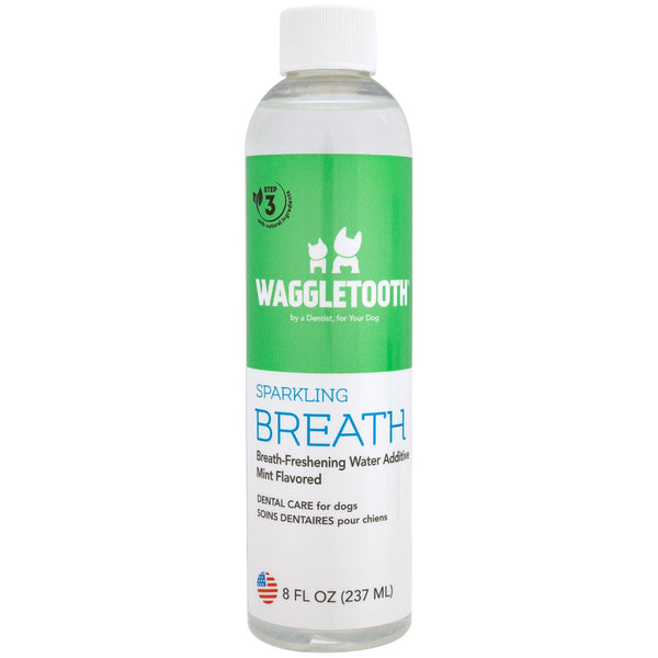Waggletooth® Sparkling Breath Dog Water Additive