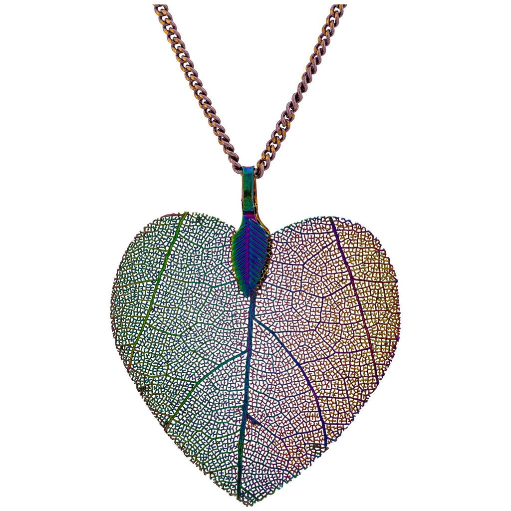 Lustrous Leaf Heart Jewelry Collection