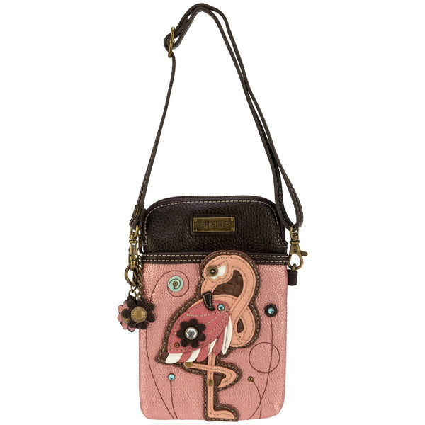 Pink Flamingo Petite Crossbody Purse