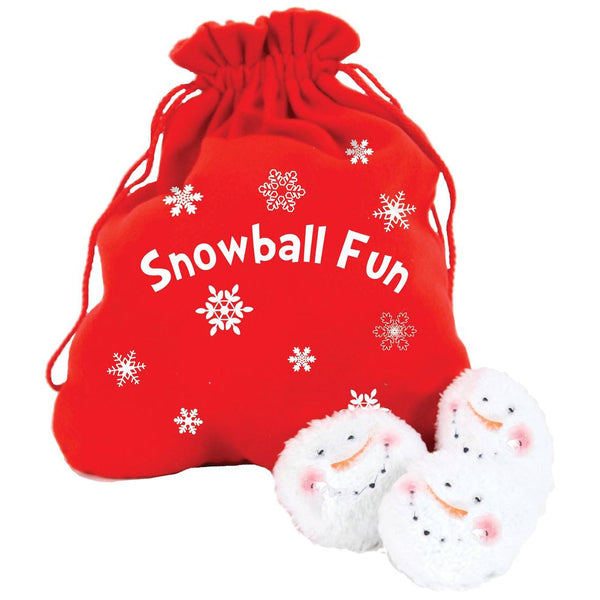 Santa Bag Snowball Fun
