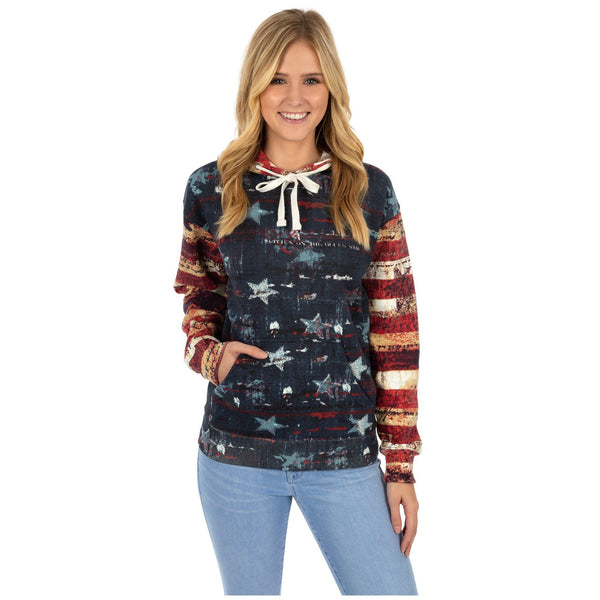Old Glory Hooded Sweatshirt