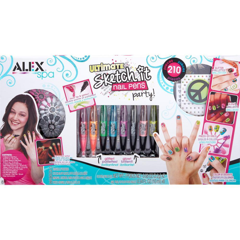 Alex Spa™ Ultimate Sketch It Nail Pens Set