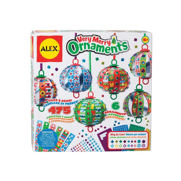 Alex® Very Merry Ornaments