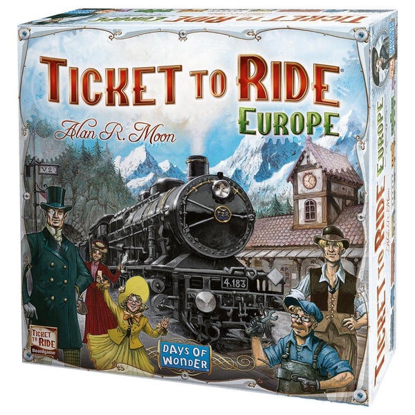 Ticket To Ride® Europe Game