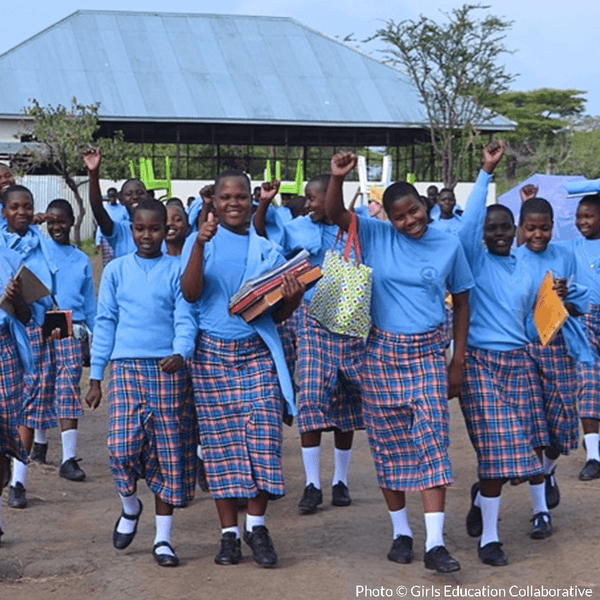 Give a Healthy Meal to a Girl in School in Tanzania